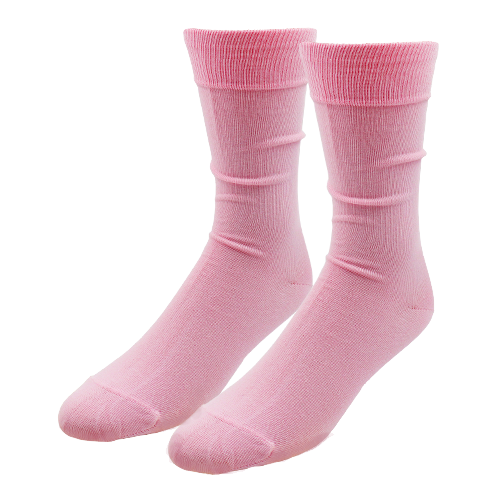 Light Pink Socks for Men - E.L. Cravatte (1)