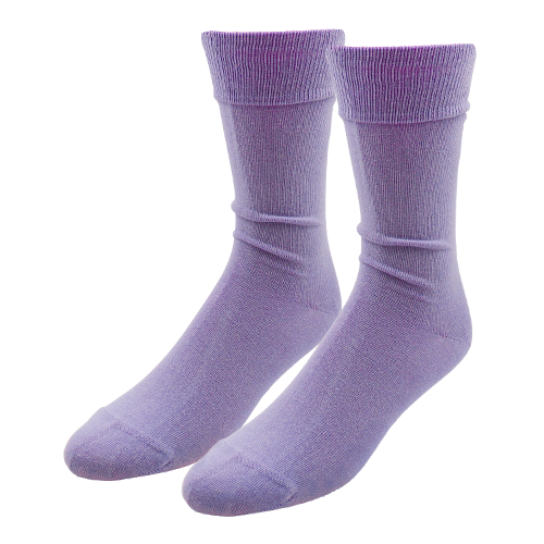 Light Purple Socks for Men - E.L. Cravatte (1)
