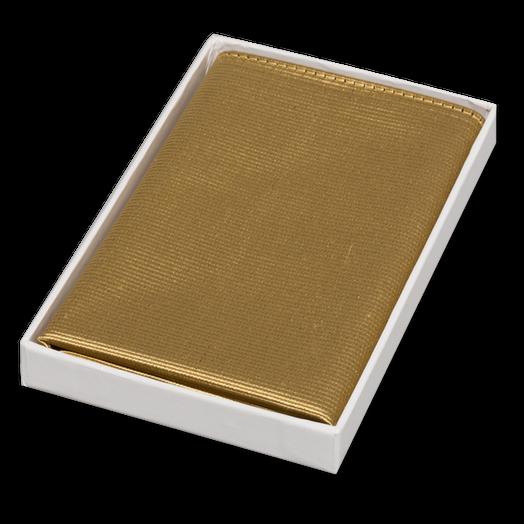 Pocket square gold  At Ties4him co uk!