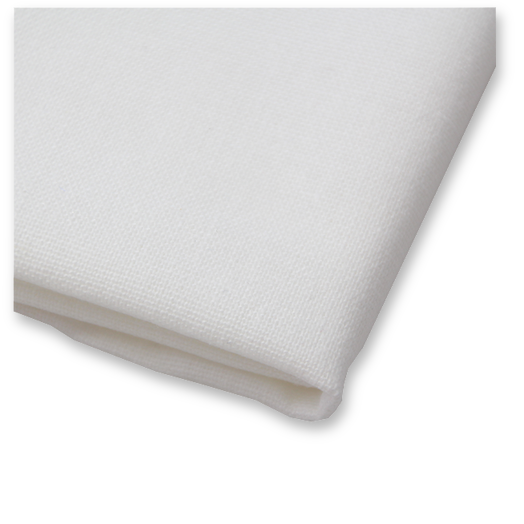 White Pocket Square - Linen (3)