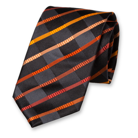 Black/orange tie (1)
