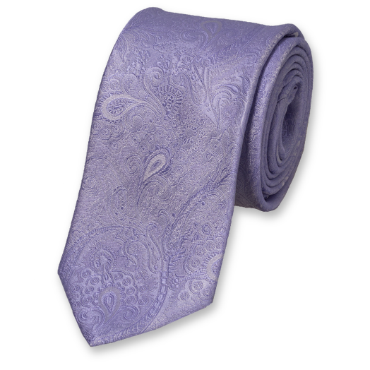 Wedding tie Lila- baroque  (1)