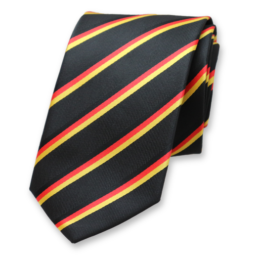 Necktie Germany - German Flag (1)