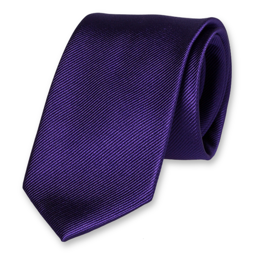 Purple Tie - Silk (1)