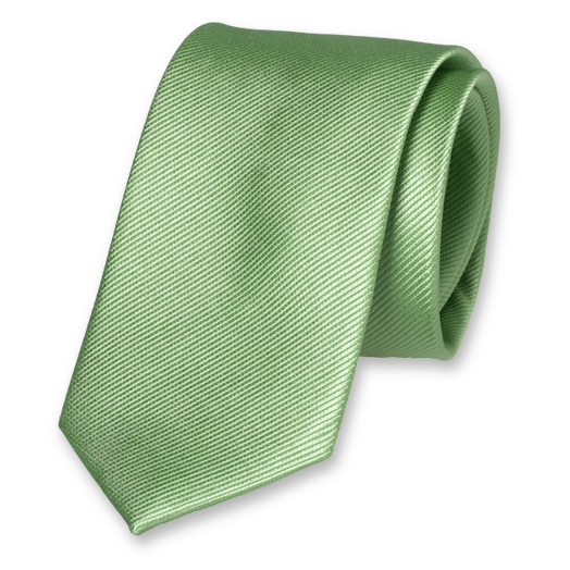 Light Green Tie - Silk (1)