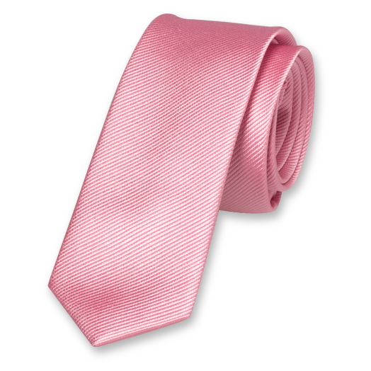 Light Pink Boys Tie - Silk (1)