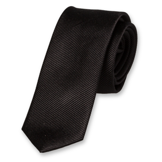 Black Boys Tie - Silk (1)