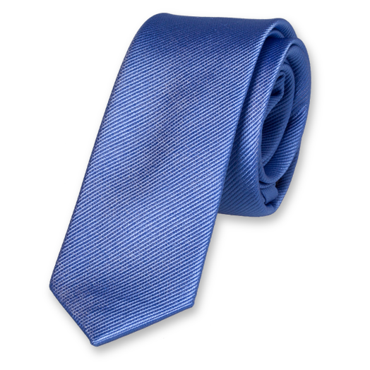 Blue Boys Tie - Silk (1)