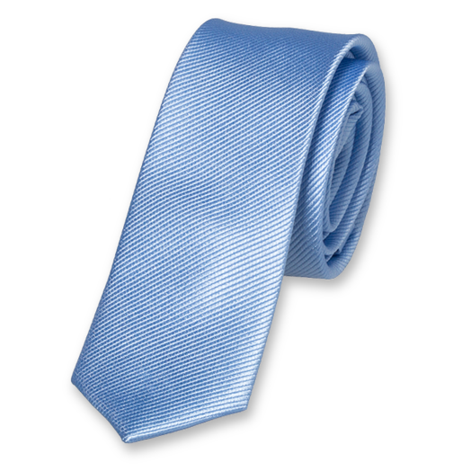 Light Blue Boys Tie - Silk (1)