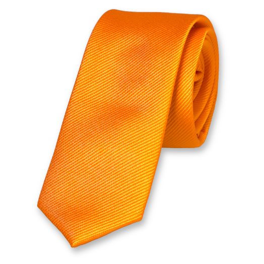 Orange Boys Tie - Silk (1)