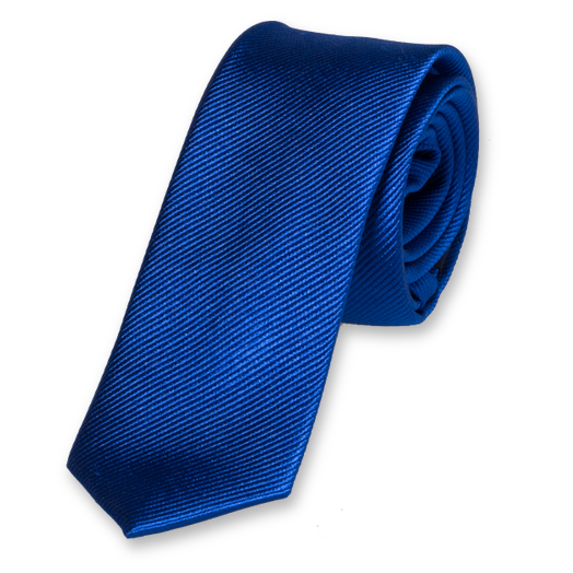 Royal Blue Boys Tie - Silk (1)