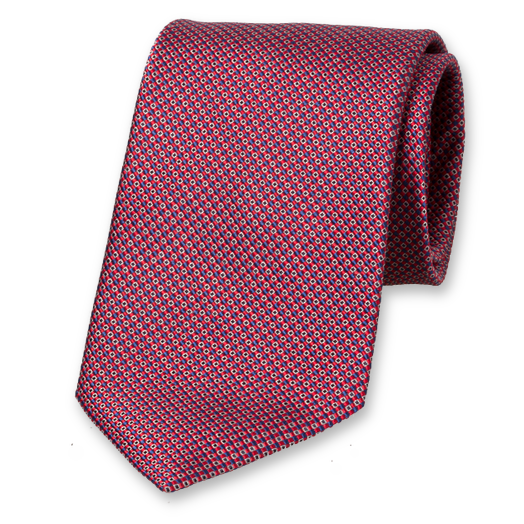 Red Profuomo tie (1)
