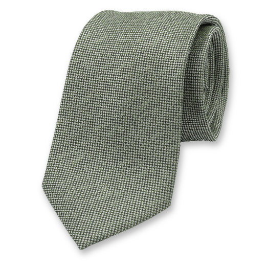 Green Luxury Necktie - Profuomo (1)