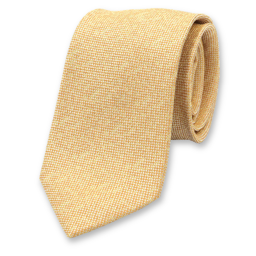 Yellow Luxury Necktie - Profuomo (1)