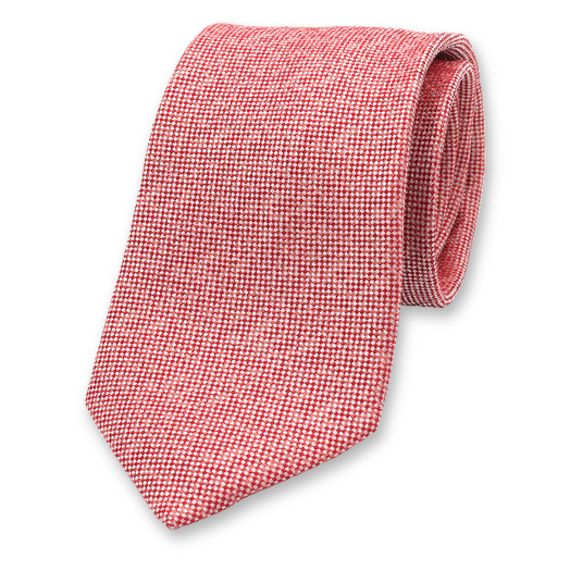 Red Luxury Necktie - Profuomo (1)