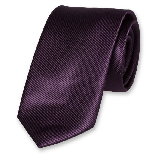 Dark Purple Tie - Polyester (1)
