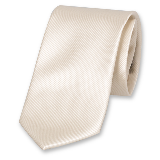 Cream White Tie - Polyester (1)