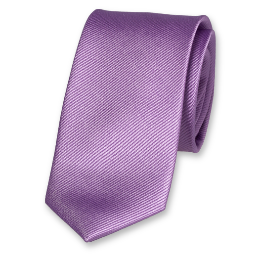 Lilac Tie for Woman - Silk (1)