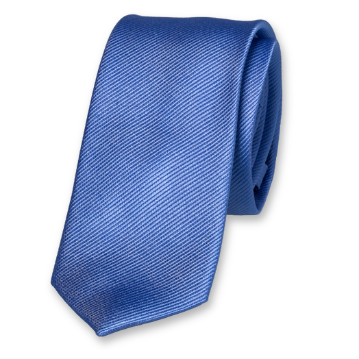 Blue Tie for Woman - Silk (1)