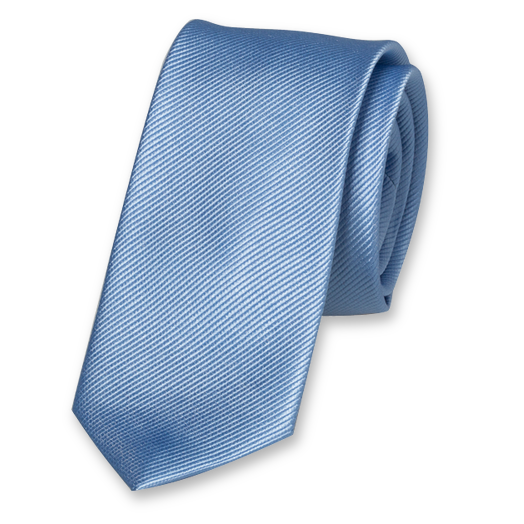 Light blue skinny tie (1)
