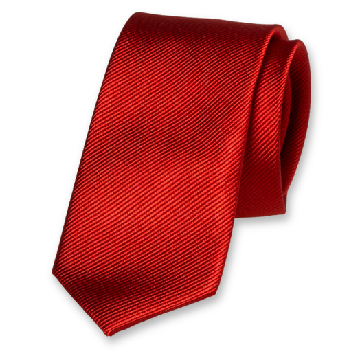 Red Tie for Woman - Silk (1)