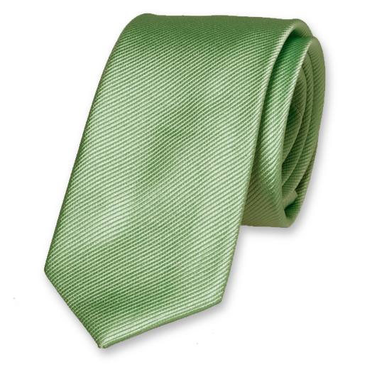 Light green skinny tie (1)