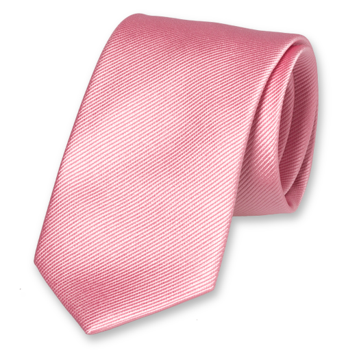 Light Pink Extra Long Tie - Silk (1)