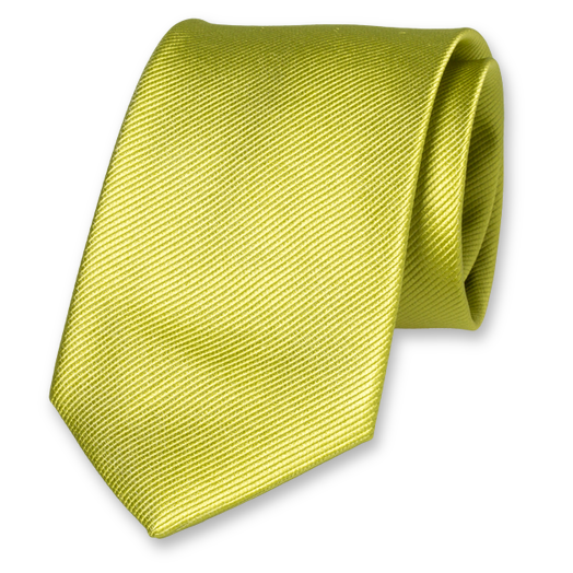 Lime Extra Long Tie - Silk (1)