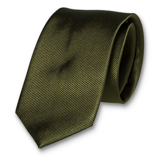 Dark Green Tie - Silk (1)