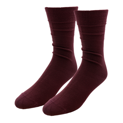 Aubergine Socks for Men - E.L. Cravatte (1)