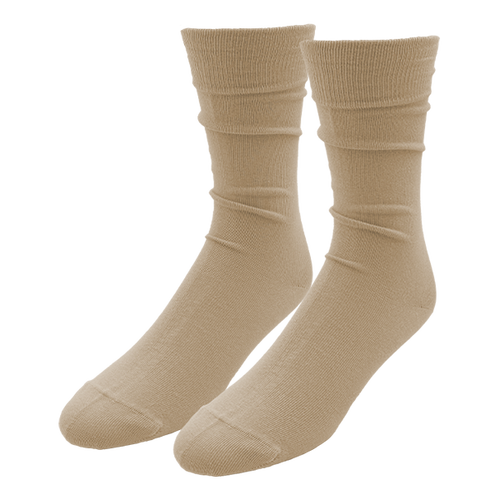 Beige Socks for Men - E.L. Cravatte (1)
