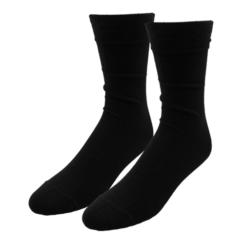 Black Socks for Men - E.L. Cravatte (1)