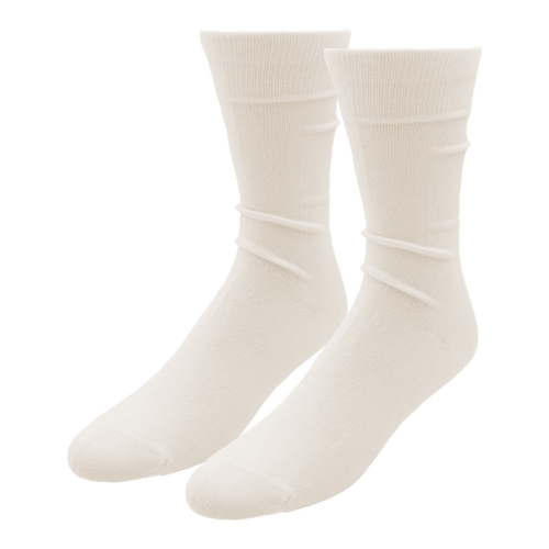 White Socks for Men - E.L. Cravatte (1)
