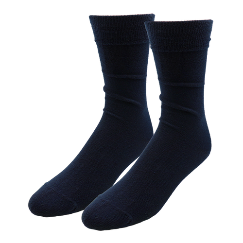 Dark Blue Socks for Men - E.L. Cravatte (1)