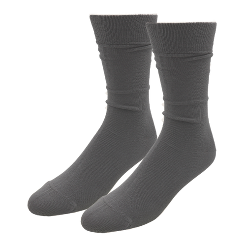 Anthracite Socks for Men - E.L. Cravatte (1)