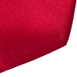 Dark Red Tie - Polyester Satin - Thumbnail 2