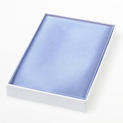 Silk Pocket Square Light Blue