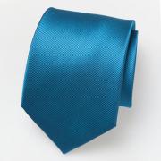 Tie bright blue